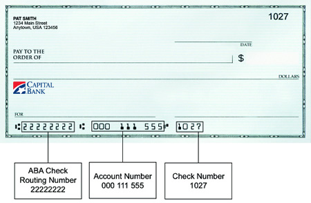 Routing Number - Capital Bank on bank routing number, bank online banking, bank insurance, bank annual reports,